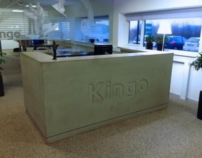 Cazana beton receptionsdisk
