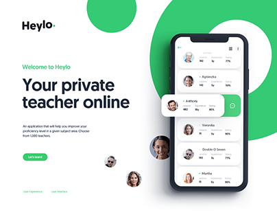 Heylo. Your private teacher online