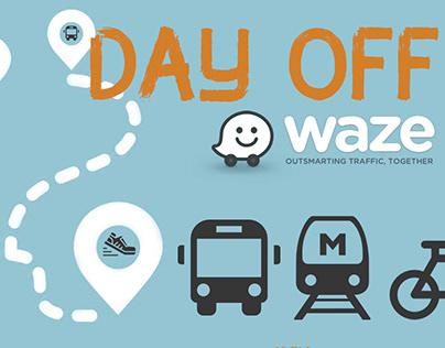 Day Off - Waze