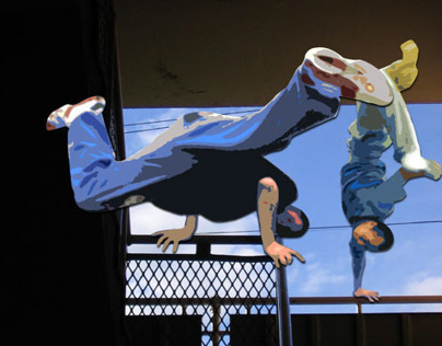 Breakdancers from 2005