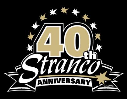Stranco - 40th Anniversary Logo