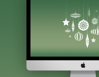 Christmas Bauble Wallpaper for Mac/PC