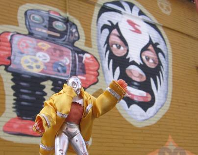 Mexican Wrestler Toys in Brooklyn