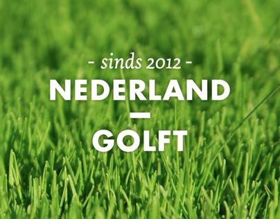 Nederland Golft identity and website