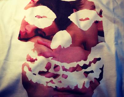 Misfits custom tshirt