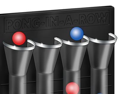 Pong in a Row by Imagine That! Design