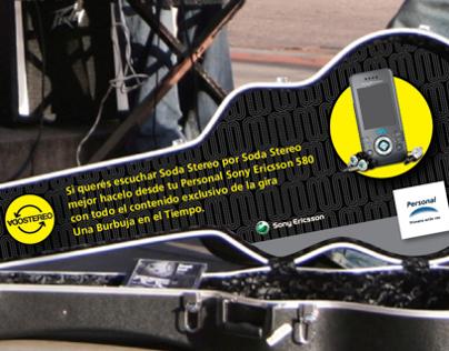 Telecom Personal / Regreso Soda Stereo