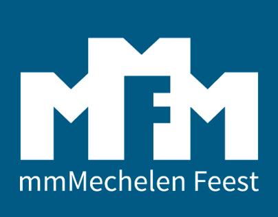 Logo design: mmMechelen Feest