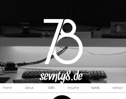 My Homepage - ...in progress