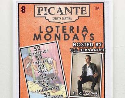 Loteria Mondays - Poster/Flyer - Graphic/Print