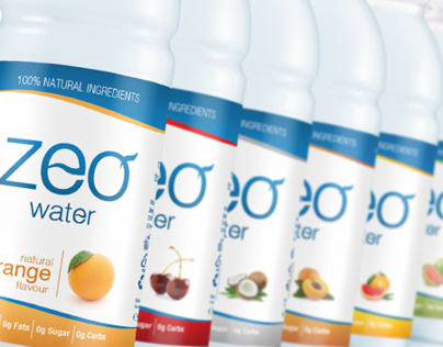 ZEO WATER Packaging design