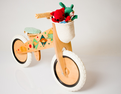5x5 Artistas Series Ding Dong Bikes