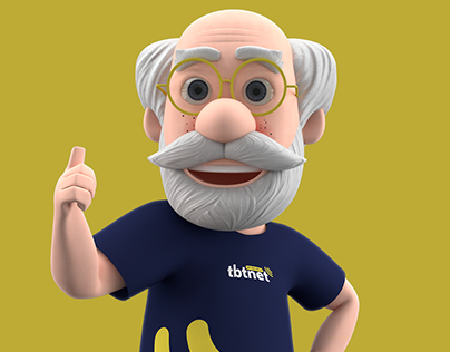 Grandfather 3D Character