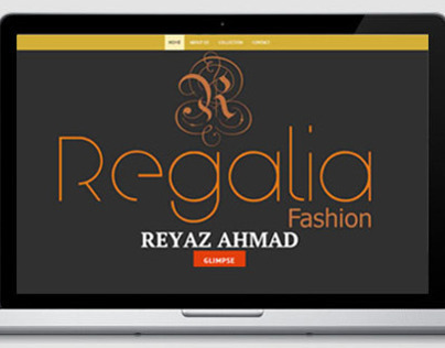Regalia Fashion Website Design
