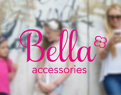 Bella accessories brand identity