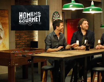 Homens Gourmet tv show