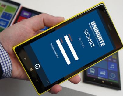 Sicanet - Windows Phone App