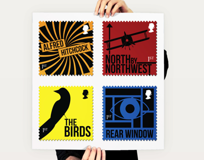 Alfred Hitchcock Stamps