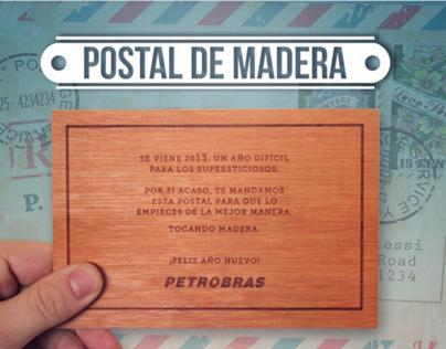 Postal de Madera - Petrobras
