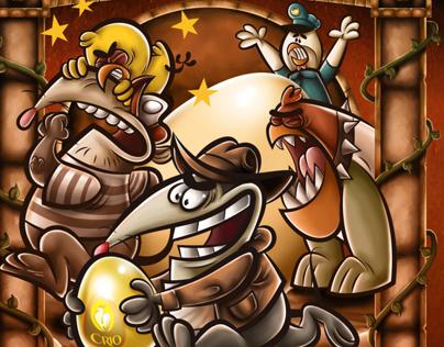 Zorroberto, Melquiades y los Pollos Crío