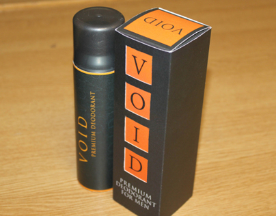 Void Deodorant Packaging