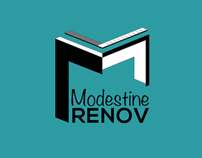 Modestine RENOV - Logotype & Visual Identity