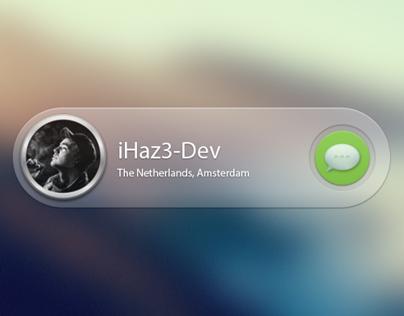 Message Widget OSX