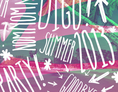 DIGo Summer Party Design