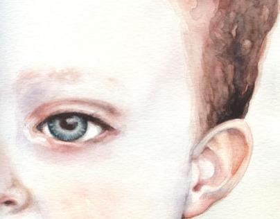 Figurative watercolors