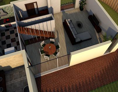 3d House Simslike!