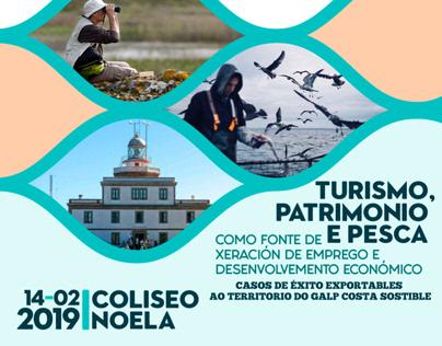 Xornada Turismo, patrimonio e pesca.