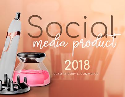 Social Media - Product for e-commerce
