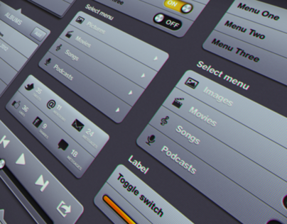 iDevice - Tablet and Phone User Interface (psd) Kit