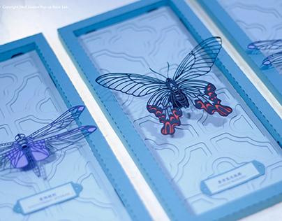 薄蟲集|立體紙雕
