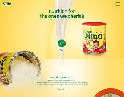 NIDO UI Concept