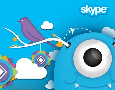 Skype Monster theme - Nexus Creative 2013