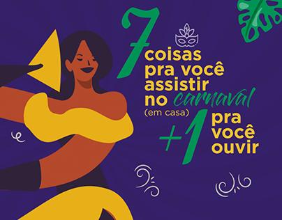 Carnaval em casa 2021 - Grupo Uniftec