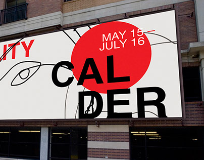 MOBILITY. Calder. Museum exhibition materials.
