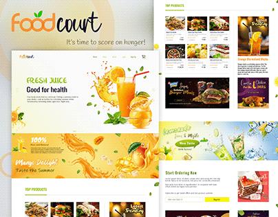 Online Food Web Design