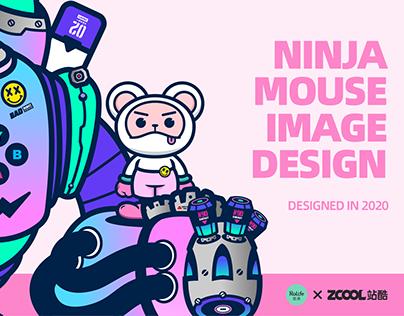 NINJA MOUSE IMAGE DESIGN 忍者鼠IP形象设计