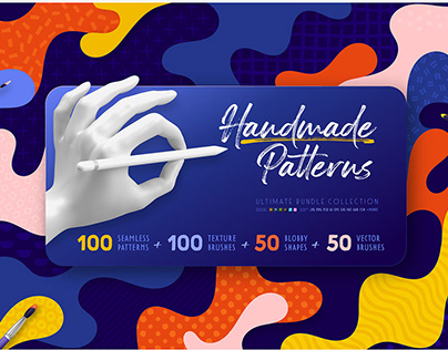 Handmade Patterns Ultimate Bundle By: Samolevsky Art