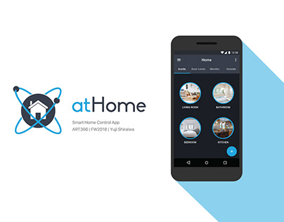 Android Smart Home Control App: atHome