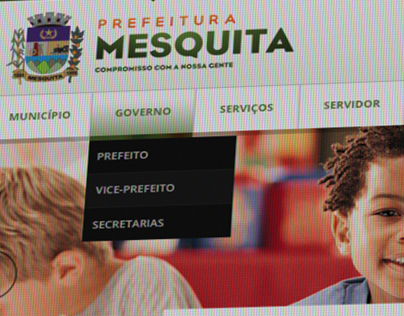 Site Prefeitura de Mesquita - RJ