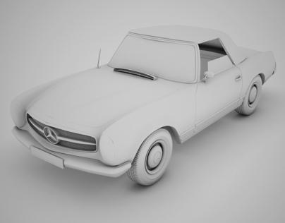 Mercedes 230_SL (Достучаться до небес) WIP