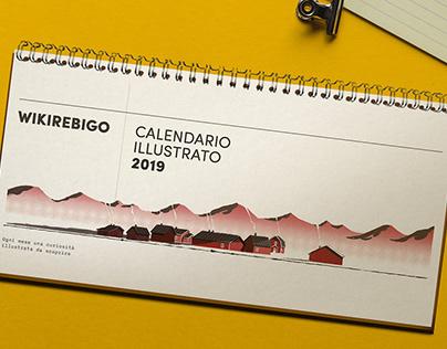Calendario Wikirebigo 2019