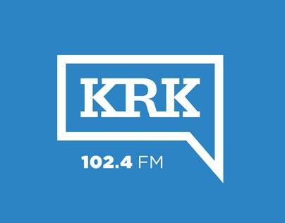 KRK.FM Logo & Branding