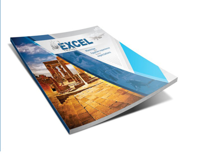 Excel Travel booklet cover