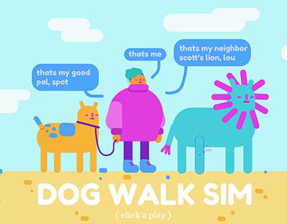dog walk sim