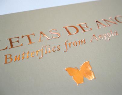 Borboletas de Angola [Editorial Design]