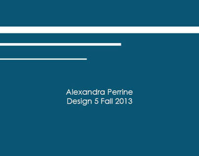 Design 5 fall 2013